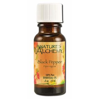 Nature's Alchemy Black Pepper 0.5-ounce Essential Oil