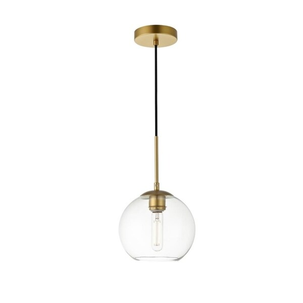 1-Light Pendant with 8 inch Clear Glass. Opens flyout.