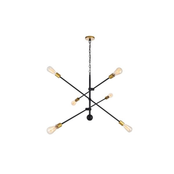 6-Light 42 inch Sputnik Pendant. Opens flyout.