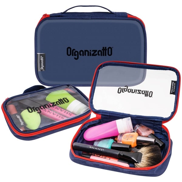 Shop Organizatto Cosmetic Organizer 3 In 1 Set With Clear Pvc