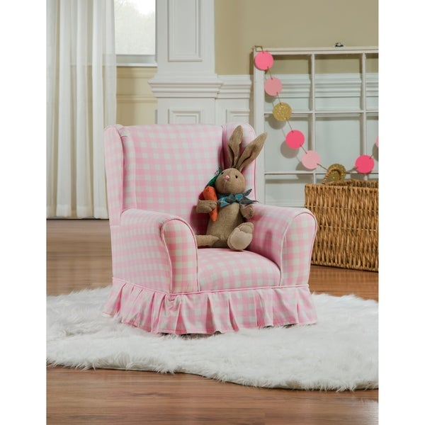 Chapter 3 Willow Juvenile Skirted Wing Chair