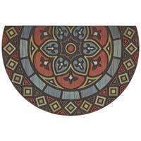 """Mohawk Doorscapes Estate Venetian Slice Door Mat (1' 11 x 2'11) - 1'11"""" x 2'11"""""""