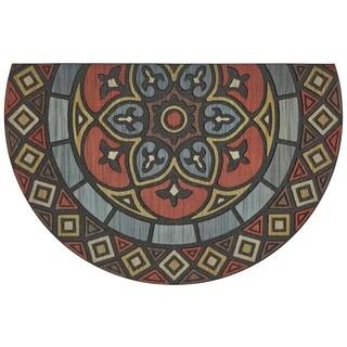 """Mohawk Home Doorscapes Estate Venetian Slice Door Mat (1' 11 x 2'11) - 1' 11""""x2' 11"""""""