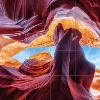 3D Mural - Crystal Glass Wall Art - multiple sizes