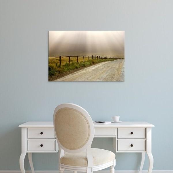 Easy Art Prints Jaynes Galleryu0026#x27;s U0026#x27;Country Road Lit