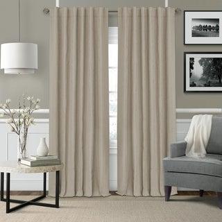 Elrene Leila Matelasse Blackout Window Curtain