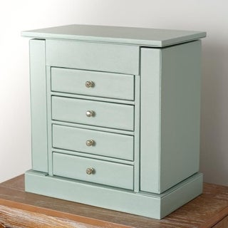 Hives & Honey Layla Jewelry Chest, Soft Blue