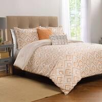WestPoint Home Syrie Orange Comforter Set