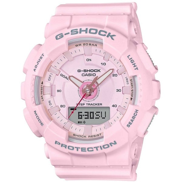 e47d0a05054 Shop Casio G-Shock S Series 46mm Resin Women s Sports Watch (Pink) - Free  Shipping Today - Overstock - 22808721