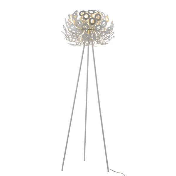 Shop Alura Metal 67 Inch Tripod Floor Lamp On Sale