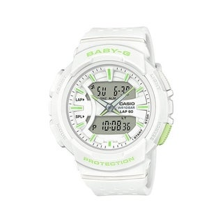 Casio BGA240-7A2 Baby G Women's Running Watch (White)