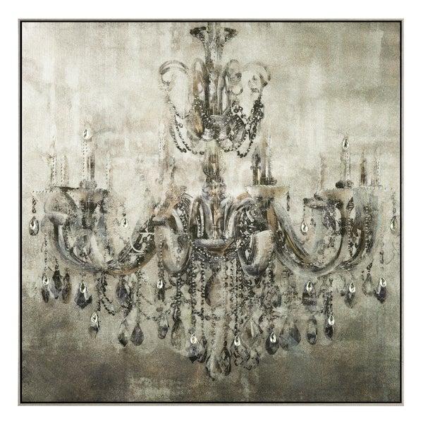 Shop Old World Luxury Transitional Wall Art - Grey/Black/Brown ...