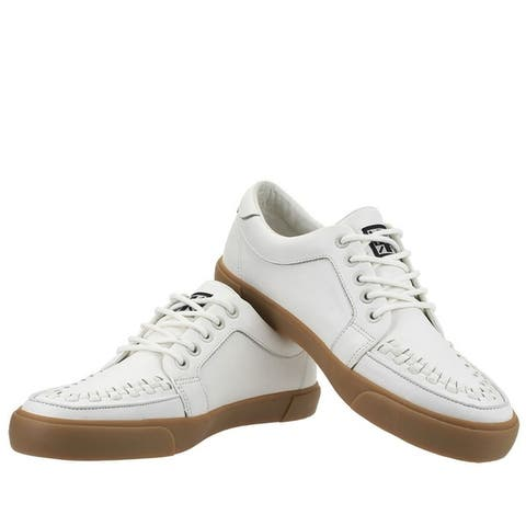 White Leather No-Ring VLK Sneaker