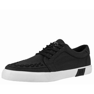 Black Twill No-Ring VLK Sneaker