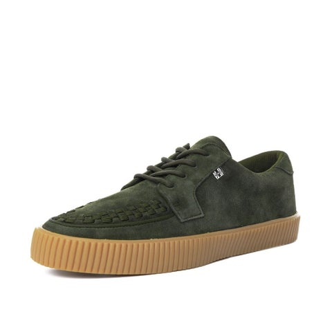 Olive Suede EZC Sneaker Shoes