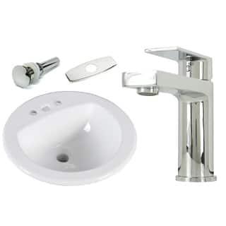 Buy 18 24 Inch Porcelain Bathroom Sinks Online At Overstockcom