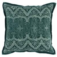 Kosas Home Belgravia Embroidered 18-inch Throw Pillow