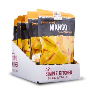 Simple Kitchen Freeze-Dried Mango - 6 Pack