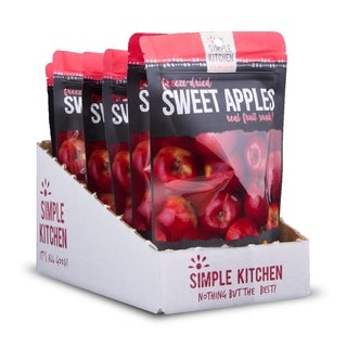 Simple Kitchen Freeze-Dried Sweet Apples - 6 Pack