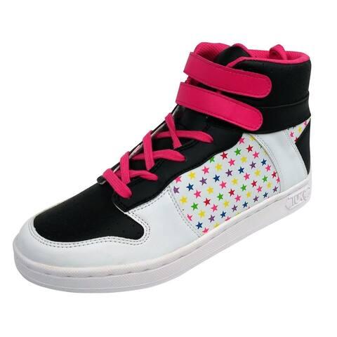 Star Velcro Pink High Top T.U.K. Sneaker