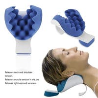 Sponge+Plastic Theraputic Neck Support Tension Reliever Neck And Shoulder Relaxer