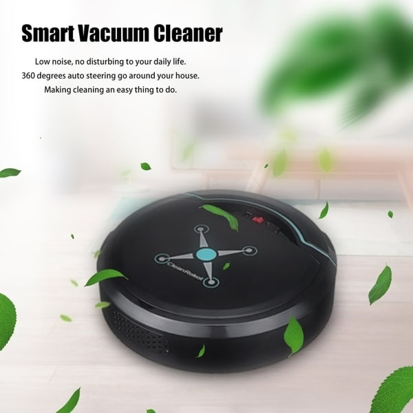 Rechargeable Auto Cleaning Robot Smart Sweeping Robot Vacuum Floor Cleaner