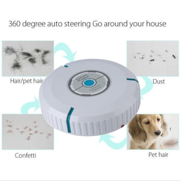 Smart Vacuum Cleaner Automatic Floor Dust Dirt Cleaning Robot Sweeping Machine