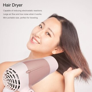 Mini Portable Foldable Handle 1000W Hair Dryer