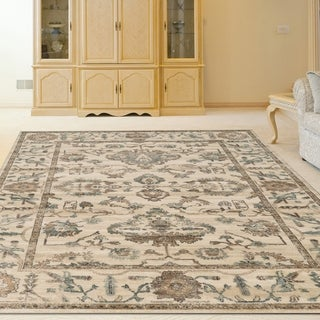 "Link to Corina Oriental Area Rug - 5'3"" x 7'3"" Similar Items in Casual Rugs"
