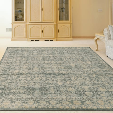 Admire Home Living Corina Traditional Oriental Distressed Vintage Pattern Area Rug