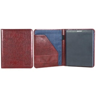 Kenneth Cole Reaction Faux Leather Open Style Bifold Business Writing Pad