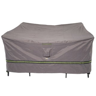 Duck Covers Soteria RainProof Square Patio Table with Chairs Cover