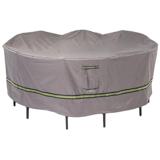 Link to Duck Covers Soteria RainProof Round Patio Table with Chairs Cover Similar Items in Patio Furniture