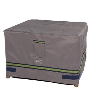 Duck Covers Soteria RainProof Square Patio Ottoman/Side Table Cover