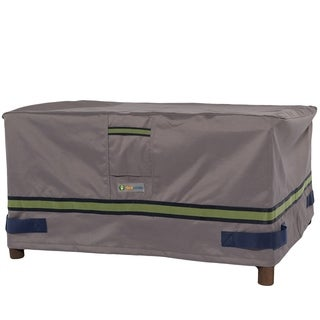 Duck Covers Soteria RainProof Rectangular Patio Ottoman/Side Table Cover