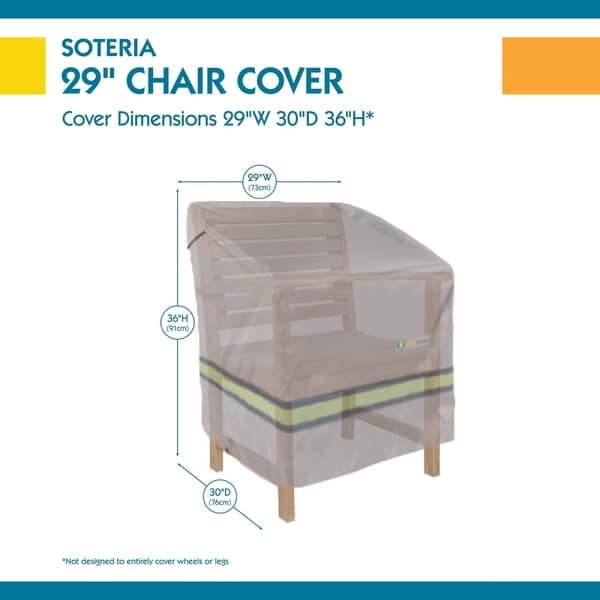 Duck Covers Soteria RainProof Patio Chair Cover