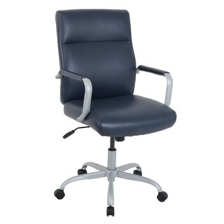 kathy ireland by Alera Manitou Series High-Back Leather Office Chair