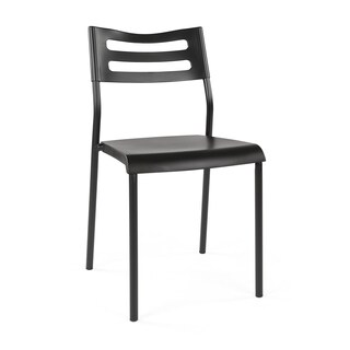 Industrial Style Desk Writing Chair, Black