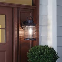 Traditional 1-light Prairie Rock Outdoor Wall Sconce