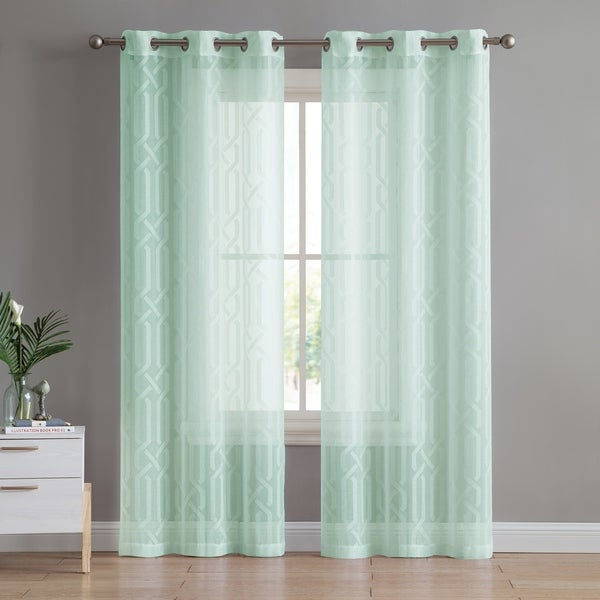 Shop VCNY Home Irongate Sheer Grommet Curtain Panel