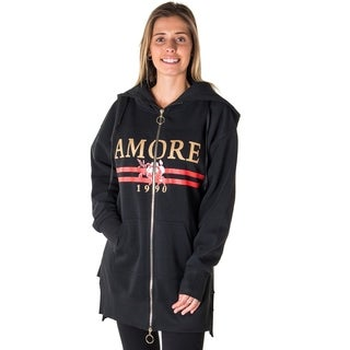 Ladies Oversized Hoody Jacket