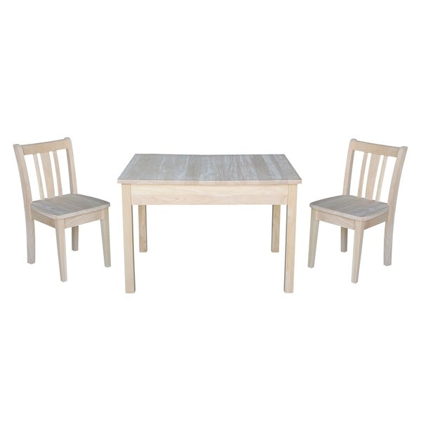 Shop Kids Table With Lift Up Top And 2 San Remo Juvenile