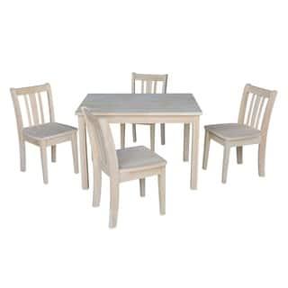 15b80bd0e7372 Kids Table with 4 San Remo Juvenile Chairs - 5 Piece Set - N A