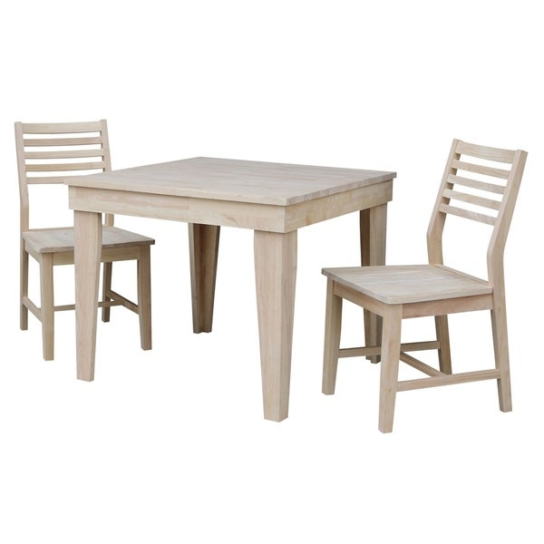 Shop Aspen Solid Wood Dining Table With 2 Aspen Slat