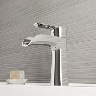 VIGO Paloma Chrome Single Hole Bathroom Faucet