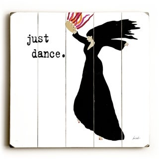 Just Dance -   Planked Wood Wall Decor by Lisa Weedn