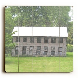 Large Old Barn -   Planked Wood Wall Decor by Jennifer Rizzo Design