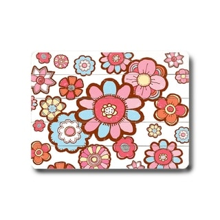Flower Hill -   Planked Wood Wall Decor by Peter Horjus