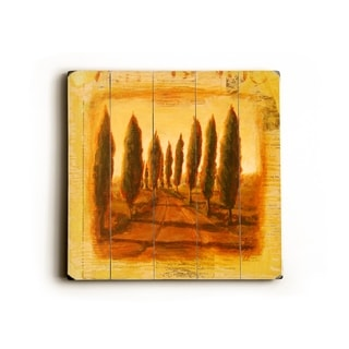 Tuscan Road -   Planked Wood Wall Decor by Cory Steffen