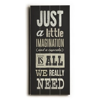 Imagination -   Planked Wood Wall Decor by Cory Steffen
